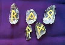 Gold Crystal Runes